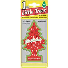 image of Little Trees Strawberry & Kiwi Car Air Freshener