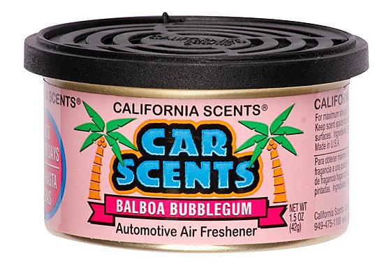 California Scents Balboa Bubblegum Car Scents Air Freshener