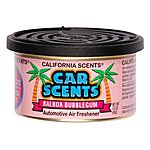 image of California Scents Balboa Bubblegum Car Scents Air Freshener