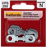 image of Halfords Assorted OTO Strip Fuses 80, 110, 150 & 175 AMP