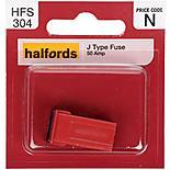 Halfords J Type Slow Blow Fuse 50AMP
