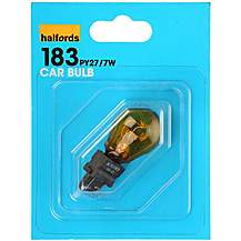 image of Halfords (HBU183) 27/7W Car Indicator Bulb x2