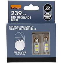 image of Halfords 6000K LED Canbus Bulb 239 x 2
