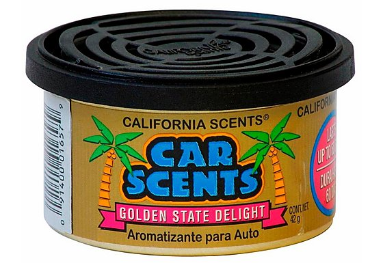 California Scents Golden State Delight Car Air Freshener