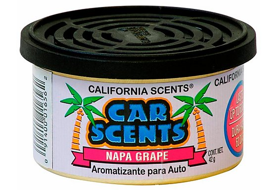 California Scents Napa Grape Car Air Freshener