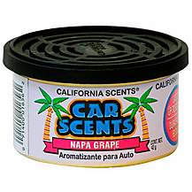 image of California Scents Napa Grape Car Air Freshener