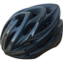 image of HardnutZ High Vis Matt Black Helmet (54-62cm)