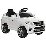 image of Mercedes ML350 6v Ride on Car with Remote - White
