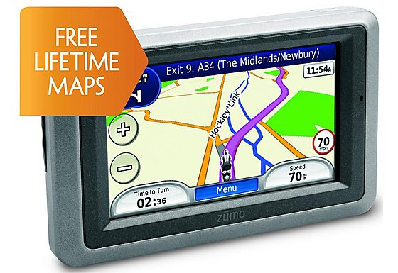 Garmin Zumo 660LM Motorcycle Sat Nav - UK, ROI & Europe