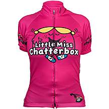 image of Little Miss Chatterbox Cycle Jersey