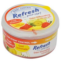 Refresh Gel Car Air Freshener Strawberry/Lemonade