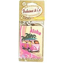 image of Bahama 2D Camper Van Car Air Freshener Pina Colada