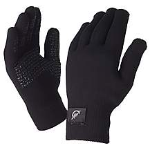 image of SealSkinz Ultra Grip Black Gloves - Small