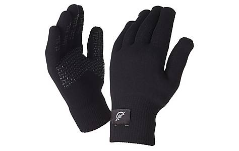 image of SealSkinz Ultra Grip Black Gloves - Medium