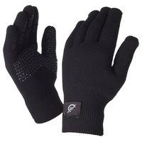 SealSkinz Ultra Grip Black Gloves - Medium