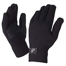 image of SealSkinz Ultra Grip Black Gloves - Large
