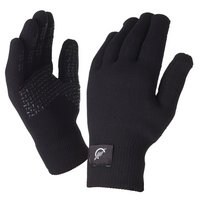 SealSkinz Ultra Grip Black Gloves - Large