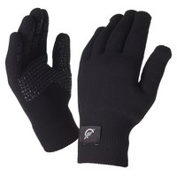 SealSkinz Ultra Grip Black Gloves - Extra Large