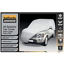 image of Halfords Advanced All Seasons Car Cover Extra Large Extra Tall
