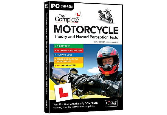 DTS The Complete Motorcycle Theory and Hazard Perception Tests
