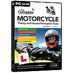 image of DTS The Complete Motorcycle Theory and Hazard Perception Tests
