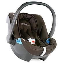 image of Mamas & Papas Cybex Aton Baby Car Seat Black Jack