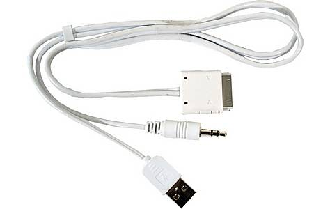 image of Autoleads PC7-HU - iPod to 3.5mm & USB Lead - 1 Metre