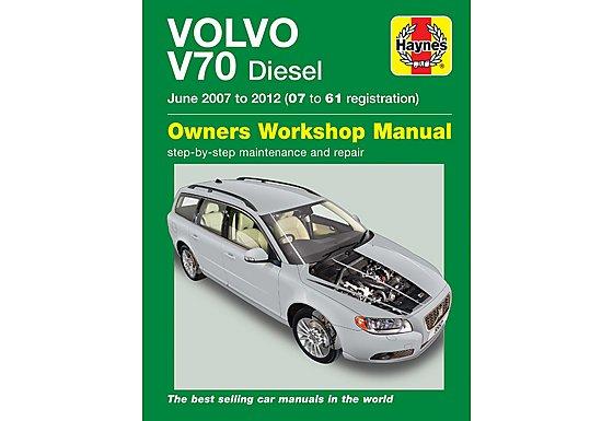 Haynes Volvo V70 Diesel (June 07 - 12) Manual