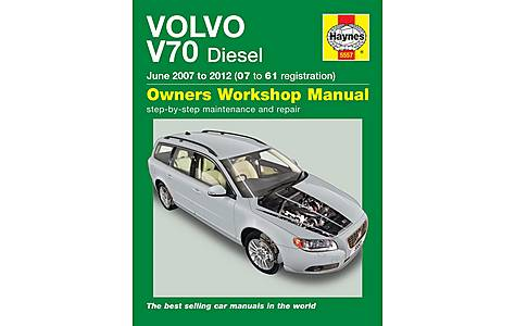 image of Haynes Volvo V70 Diesel (June 07 - 12) Manual