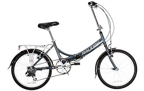image of Raleigh Evo-7 Folding Bike