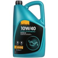 Halfords 10W40 Part Synthetic Oil 4L