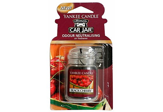 Yankee Candle Jar Car air Freshener Black Cherry