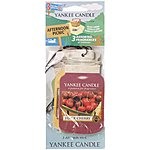 image of Yankee Candle Jar Variety Afternoon Picnic Car air Fresheners 3 Pack