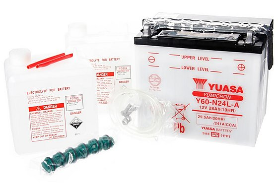 Yuasa Y60/YB60-N24L-A Powersport Battery