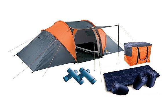 Aventura 4 Man Tent Pack
