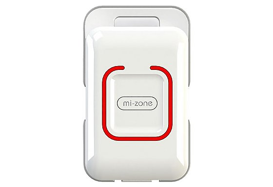 Mi-Zone 2 Way Bluetooth Proximity Alarm - White