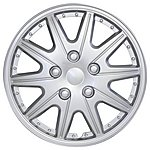 image of Halfords Houston 16 Inch Wheel Trims - Set of 4