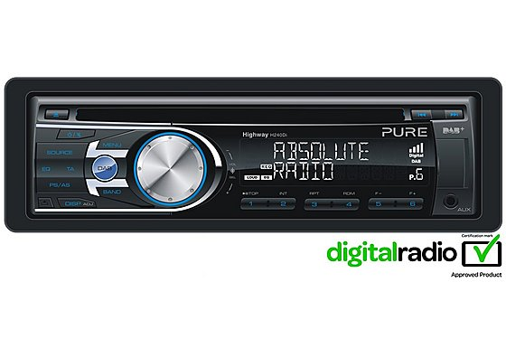 Pure Highway H240Di Digital/FM/AM Radio