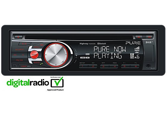 Pure Highway H260DBi Digital/FM/AM Radio with Bluetooth