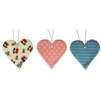 Flos Fancies Vintage Hearts 3 pack Air Freshener