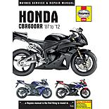 Haynes Honda CBR600RR Motorcycle Manual