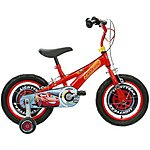 image of Disney Cars 3 Kids Bike 14""