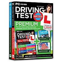 image of Driving Test Success All Tests Premium PC 2013 Edition