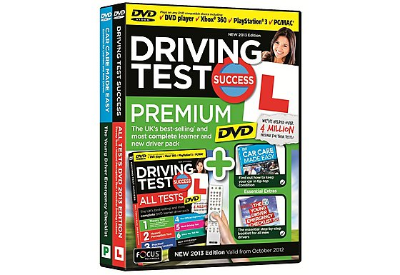 Driving Test Success All Tests Premium DVD 2013 Edition