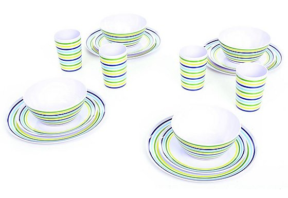 Vacanza by Outwell Melamine Picnic Set