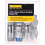 image of Halfords Ford Vision Blue Metallic Scratch & Chip Repair Kit