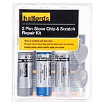 image of Halfords Peugeot Aegean Blue Metallic Scratch & Chip Repair Kit