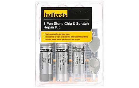 image of Halfords Audi Ice Silver Metallic Scratch & Chip Repair Kit