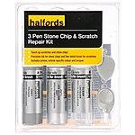 image of Halfords Audi Ice Silver Metallic Scratch & Chip Repair Kit
