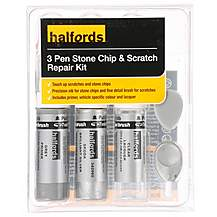 image of Halfords Skoda Brilliant Silver Scratch & Chip Repair Kit